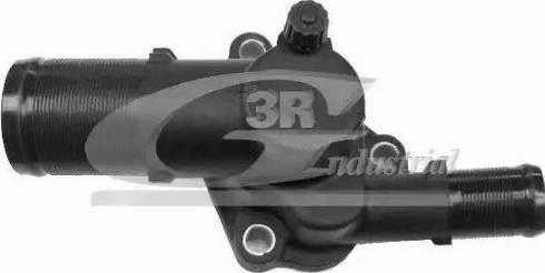3RG 80652 - Thermostat, coolant detali.lv