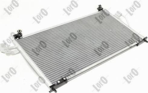 ABAKUS 0300160018 - Condenser, air conditioning detali.lv