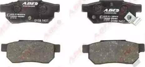 ABE C24002ABE - Brake Pad Set, disc brake detali.lv