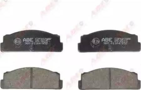 ABE C2F007ABE - Brake Pad Set, disc brake detali.lv