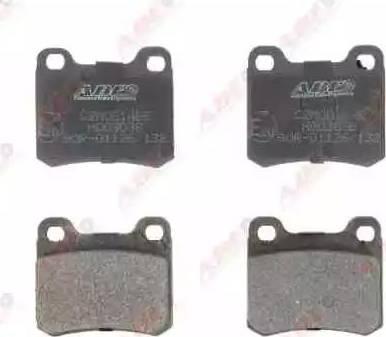 ABE C2M001ABE - Brake Pad Set, disc brake detali.lv