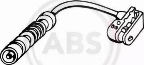 A.B.S. 39598 - Warning Contact, brake pad wear detali.lv