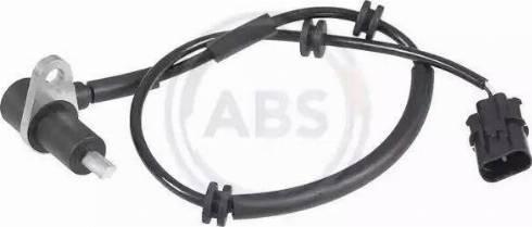 A.B.S. 30890 - Sensor ABS, wheel speed detali.lv