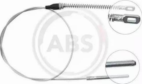 A.B.S. K15458 - Cable, parking brake detali.lv