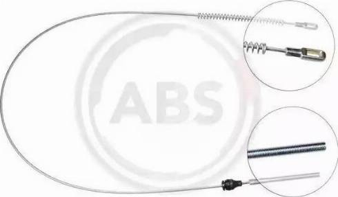 A.B.S. K12077 - Cable, parking brake detali.lv