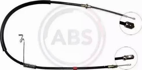 A.B.S. K17938 - Cable, parking brake detali.lv