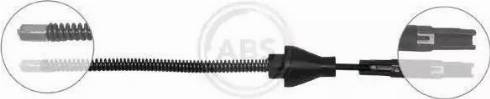 A.B.S. K17416 - Cable, parking brake detali.lv