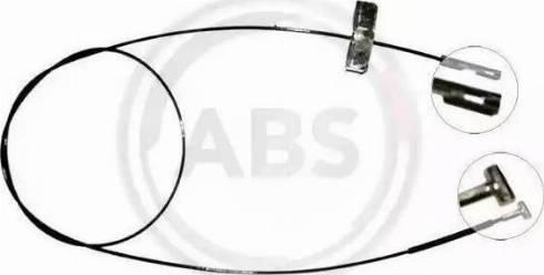 A.B.S. K17252 - Cable, parking brake detali.lv