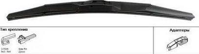 ACDelco 19351197 - Wiper Blade detali.lv