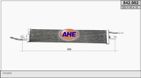 AHE 842.002 - Oil Cooler, engine oil detali.lv