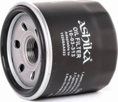 Ashika 1003313 - Oil Filter detali.lv