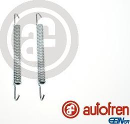 AUTOFREN SEINSA D31074A - Accessory Kit, parking brake shoes detali.lv
