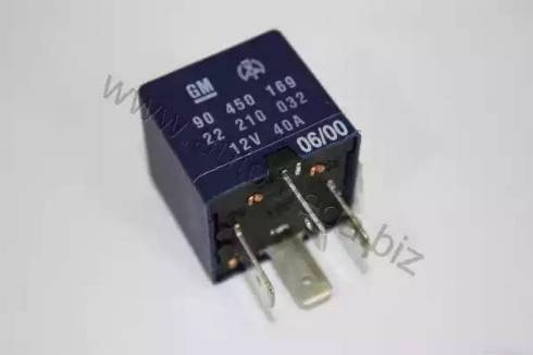 Automega 150086415 - Relay, air conditioning detali.lv