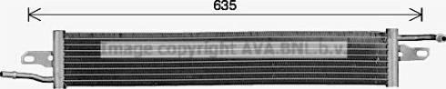 Ava Quality Cooling AU2342 - Fuel radiator detali.lv