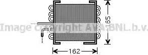 Ava Quality Cooling MS 2443 - Fuel radiator detali.lv