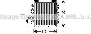 Ava Quality Cooling MS 2481 - Fuel radiator detali.lv
