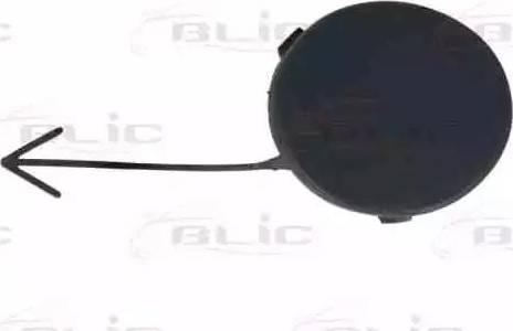 BLIC 5513002533921P - Bumper Cover, towing device detali.lv