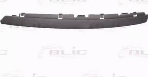 BLIC 6502079544921P - Trim/Protective Strip, bumper detali.lv