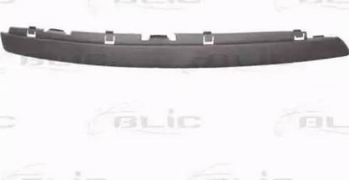 BLIC 6502079544922P - Trim/Protective Strip, bumper detali.lv