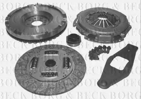 Borg & Beck HKF1001 - Conversion Set, clutch detali.lv