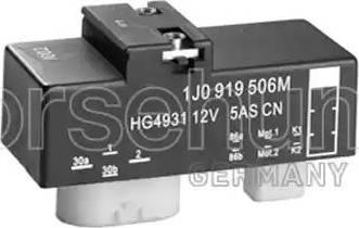 Borsehung B17825 - Relay, radiator fan castor detali.lv