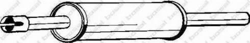 Bosal 233309 - Front Silencer detali.lv