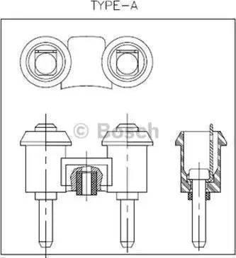 BOSCH 0986320130 - Air Horn detali.lv