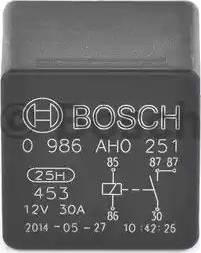 BOSCH 0986AH0251 - Relay, cooling fan detali.lv