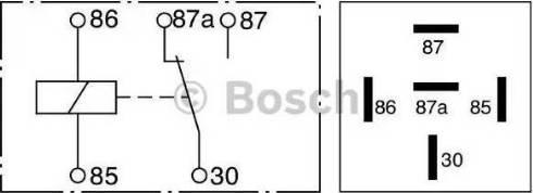 BOSCH 0332209150 - Multifunctional Relay detali.lv