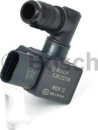 BOSCH 0261232016 - Pressure Switch, brake hydraulics detali.lv
