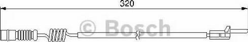BOSCH 1987474964 - Warning Contact, brake pad wear detali.lv