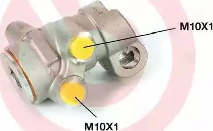 Brembo R61002 - Brake Power Regulator detali.lv