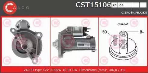 Casco CST15106AS - Starter detali.lv