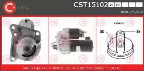Casco CST15102AS - Starter detali.lv