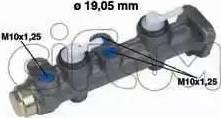 Cifam 202063 - Brake Master Cylinder detali.lv