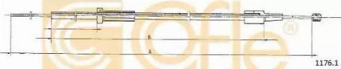 Cofle 11761 - Bonnet Cable detali.lv