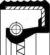 Corteco 01026501B - Seal, compressor detali.lv