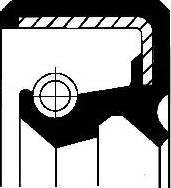 Corteco 19033656B - Shaft Seal, manual transmission detali.lv