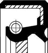 Corteco 19017032B - Shaft Seal, transfer case detali.lv