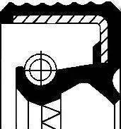 Corteco 12010684B - Shaft Seal, transfer case detali.lv