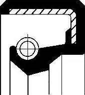 Corteco 12010802B - Shaft Seal, transfer case detali.lv