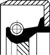 Corteco 12011464B - Shaft Seal, auxiliary drive detali.lv