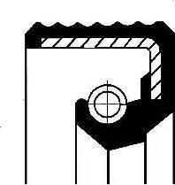 Corteco 01012588B - Shaft Seal, auxiliary drive detali.lv