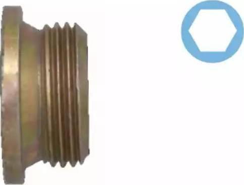 Corteco 005501H - Seal, oil drain plug detali.lv