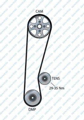Dayco 94063 - Timing Belt detali.lv