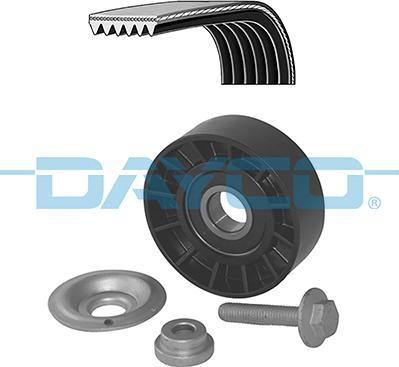 Dayco KPV474 - V-Ribbed Belt Set detali.lv