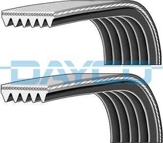 Dayco PVE003 - V-Ribbed Belt Set detali.lv