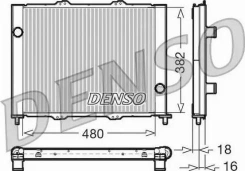 Denso DRM23099 - Cooler Module detali.lv