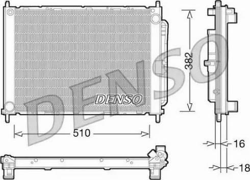 Denso DRM23101 - Cooler Module detali.lv