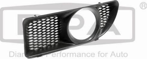 DPA 88070063102 - Ventilation Grille, bumper detali.lv